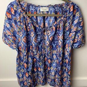 Dressbarn short sleeve blouse